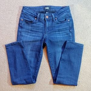 PAIGE Verdugo Skinny Crop Jean